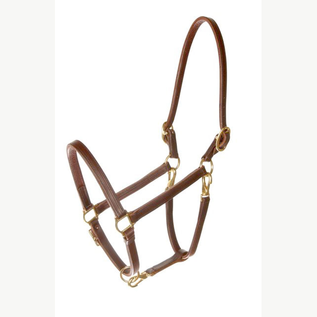LEATHER CONVERTIBLE HALTER