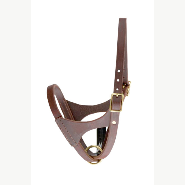 LEATHER NEWBORN (FIG 8) HALTER