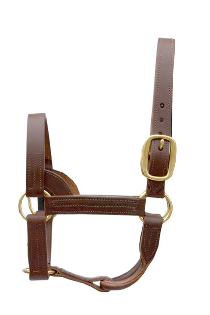 LEATHER STALLION HALTER